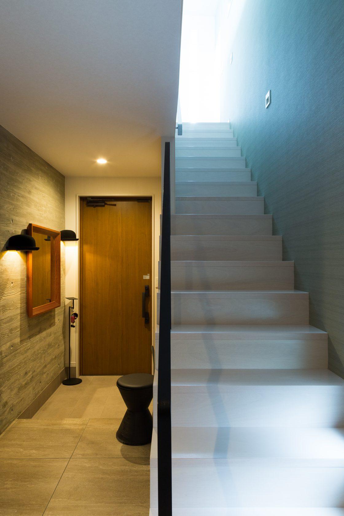 MOLSの空と光と緑に臨む家実例写真